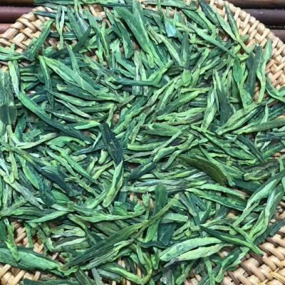 明前龙井新茶绿版豆香250克罐装