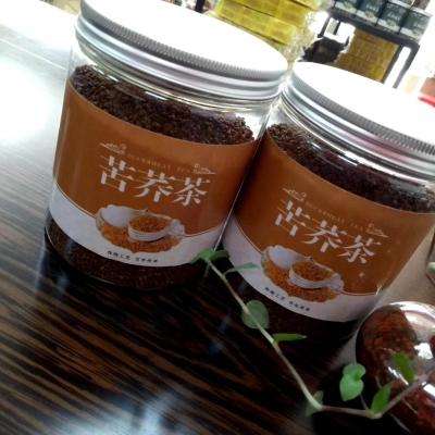 原产地黑苦荞茶罐装500克