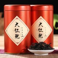 2019春茶武夷山原产地 武夷岩茶 传统碳焙醇香型大红袍 罐装100g