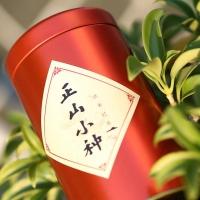 武夷山原产地 传统工艺 武夷红茶桐木关正山小种 罐装茶125g