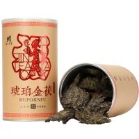 琥珀金茯罐装安化黑茶手筑金花茯砖茶/拍一发二【偏远地区不包邮】