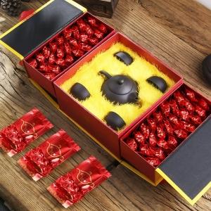 买茶送茶具 礼品茶 铁观音 浓香型 乌龙茶茶叶礼盒装