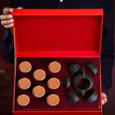 礼品茶 买茶送茶具 大红袍 乌龙茶 武夷岩茶 茶叶礼盒装