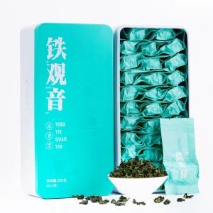 新茶安溪清香型铁观音乌龙茶叶山驰散装袋装礼盒装500克春茶