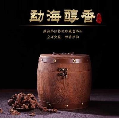 500克,2003年勐海特级老茶头