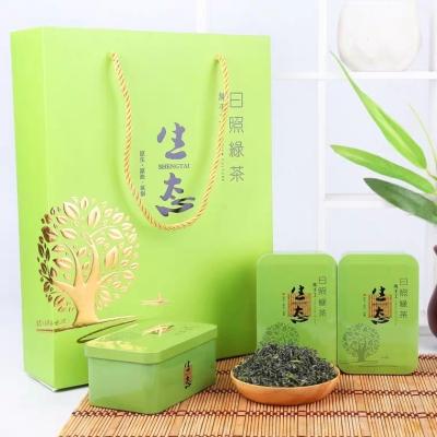 日照绿茶2020新茶春茶礼盒装茶叶高山云雾散装山东特产日照绿茶