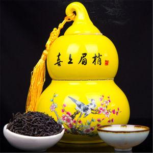 正山小种陶瓷葫芦茶罐装2019武夷山正山小种50克(偏远地区不包邮)