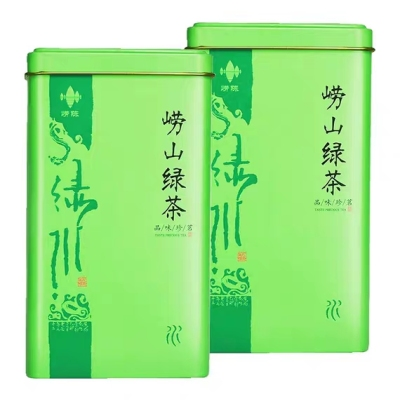 崂山绿茶2020新茶散装特级茶叶明前嫩芽高山日照罐装浓香型500g