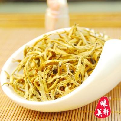 云南滇红 金芽特级红茶 大芽头 特级滇红茶 金丝滇红500克