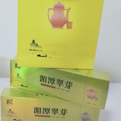 湄潭翠芽2021年新茶特级翠芽250g烟条送两包试喝装