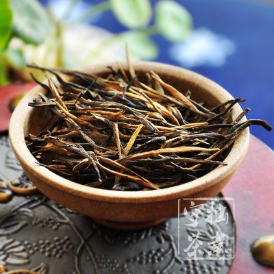 云南凤庆滇红茶 经典58原料 松针一芽一叶 理条直条红茶 500g