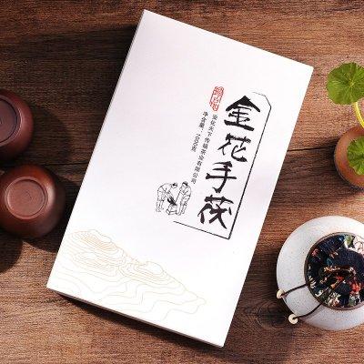 2016年正宗湖南安化金花茯砖茶茯茶1kg安华黑茶叶1000克