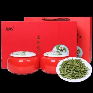 新茶正宗西湖龙井茶叶雨前龙井绿茶200g茶叶礼盒装春茶送礼