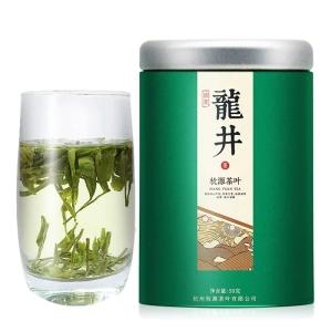 新茶龙井茶雨前西湖龙井罐装 茶农直销茶叶绿茶春茶龙井散装