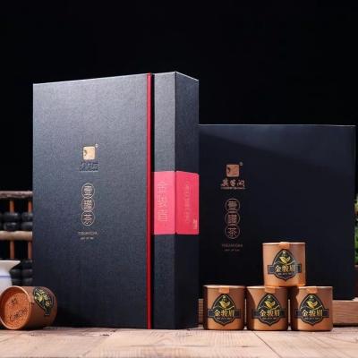 新茶 金骏眉红茶茶叶 精致罐装茶大师制作金俊眉12罐装茶礼盒
