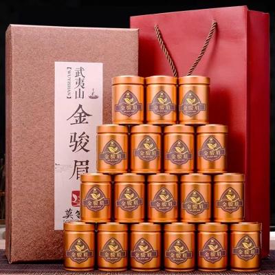 武夷山红茶金骏眉小茶罐18罐茶叶礼盒装180g 送礼精品 大气茶礼