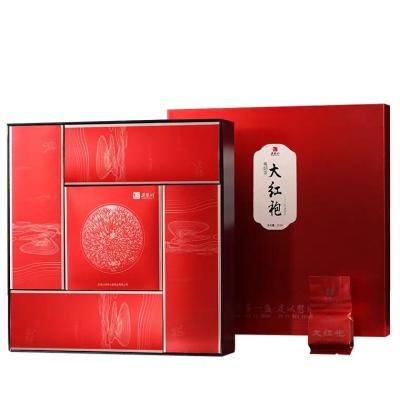 茶一盏系列 茶礼 武夷岩茶大红袍礼盒装256g配建盏 茶叶送礼