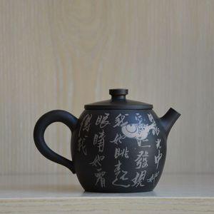 中国四大名陶之云南建水紫陶壶纯手工制作出自大师之手 作者事俗堂-小文