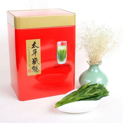 太平猴魁茶叶绿茶罐装特级安徽黄山新茶春茶盒装100克(偏远地区不包邮)