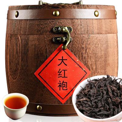 大红袍红茶  茶叶 大红袍300克木桶装(偏远地区不包邮)