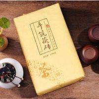 湖南安化黑茶1000g手筑茯砖金花茯砖黑茶正品茯茶砖黑茶