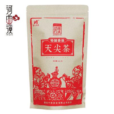 河曲溪湖南安化黑茶 香浓天尖茶200g小灶烘焙(偏远地区不包邮)