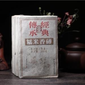 1000克  2012年的糯米香熟茶老茶砖