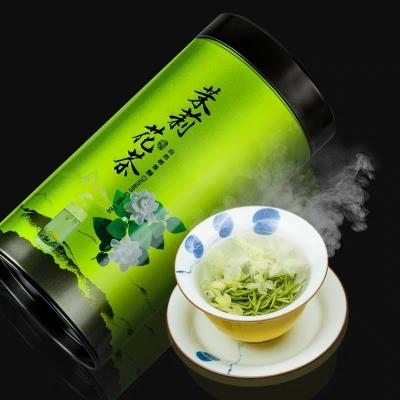 茉莉花茶新茶500g茉莉香雪茶叶浓香型新茶罐装嫩芽毛尖