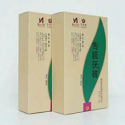 湖南华莱黑茶华莱健安化黑茶950克传统茯砖金花手筑茯砖