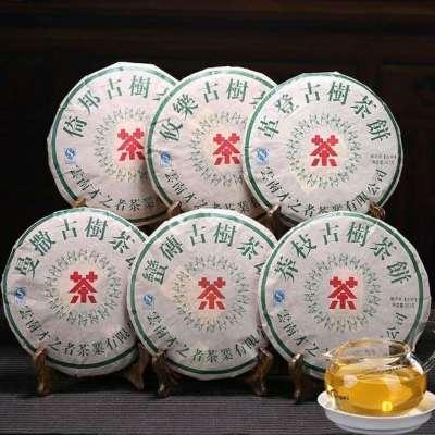 2142克.六大茶山系列生茶6片组合茶