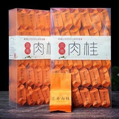 武夷肉桂茶叶武夷山正岩果香大红袍肉桂浓香型乌龙茶袋装散装500g