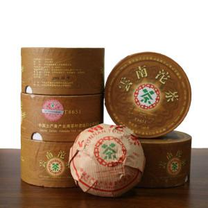 中茶普洱茶2006年T8651云南沱茶 100克盒装 干仓老熟茶