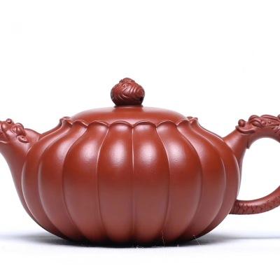 原矿大红袍紫砂壶,国家级助理工艺师吴鸣杰制,320c左右