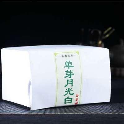 500克,2017年单芽月光白生茶