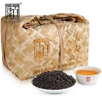 湖南安化黑茶 白沙溪散茶一级特传统湘尖茶 松香天尖茶竹篓装2kg