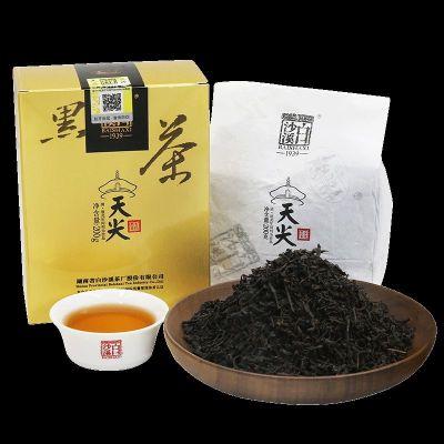 黑茶湖南安化正品白沙溪天尖茶200g正宗一级散茶松香茶安化黑茶叶
