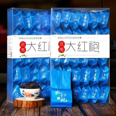 武夷山大红袍茶叶 武夷岩茶大红袍袋装散装500g春茶红茶乌龙茶