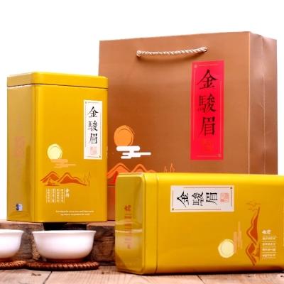 金骏眉红茶 武夷山金俊眉新茶散装罐装茶叶礼盒装共发500g