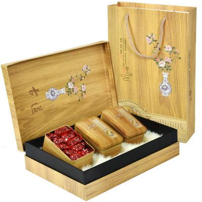 【木纹礼盒装】浓香型兰花香铁观音250g古道节日送礼新茶叶礼盒装