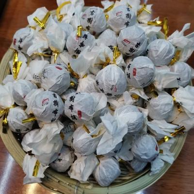 普洱茶熟茶 勐海古树布朗山熟茶 龙珠普洱茶 迷你沱茶500g