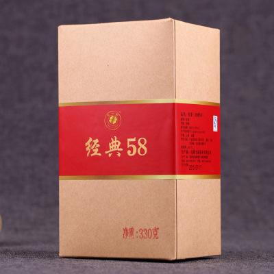 云南滇红茶 凤庆一芽一叶直条理条红茶  松针经典58红茶 660克