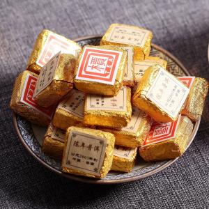 云南普洱熟茶云南2003小金砖熟茶叶 迷你小沱 檟字方砖 1000克