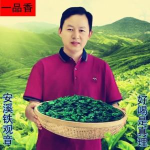 茶叶绿茶2020新茶铁观音安溪一级浓香型纯手工原生态乌龙茶特产茶