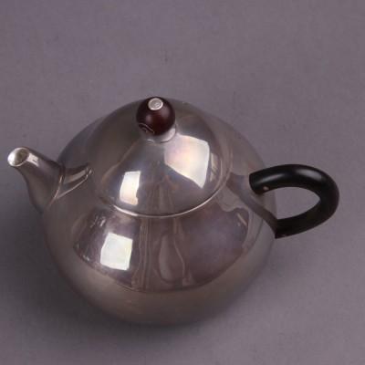 日本银器尺寸:壶D11×H9容量:200ml克重:145g