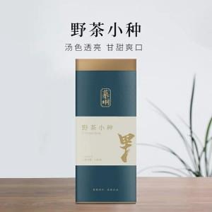 果香|野茶特级正山小种红茶 新茶叶慕桐武夷山散罐装120克