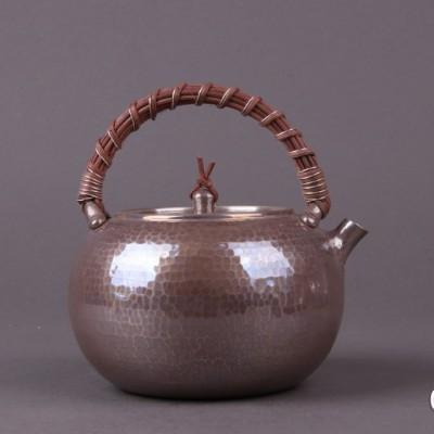 日本银器尺寸:壶D13×H13容量:900ml克重:270g