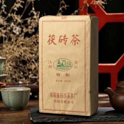 安化黑茶特制茯砖800克