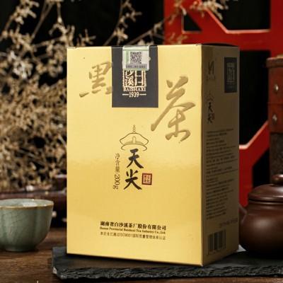 安化黑茶天尖散茶200克盒装