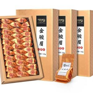 新茶正宗金骏眉茶叶红茶浓香型送礼盒装武夷山蜜香小包装500g