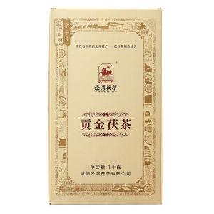 泾渭茯茶贡金茯茶泾阳茯茶砖茶黑茶叶金花伏茶2015(偏远地区不包邮)